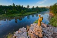 Парк «Оленьи ручьи. Скала Карстовый Мост.»