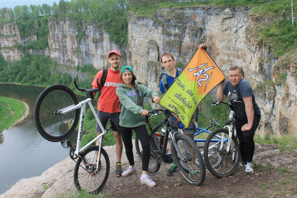 Тур выходного дня из Челябинска - Велотур Айские притесы