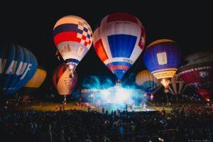 Открытие фестиваля воздухоплавания