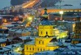 Казань новогодняя + Раифский монастырь